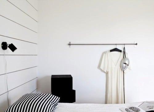 Un int rieur noir et blanc for Interieur noir et blanc