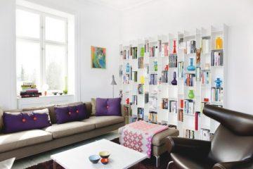 Un appartement danois clair et coloré