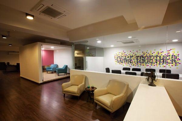 Les locaux de l'entreprise White Canvas à Bangalore (1)