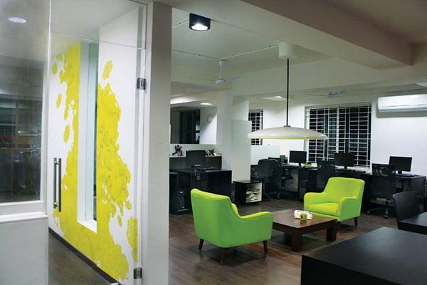 Les locaux de l'entreprise White Canvas à Bangalore (10)