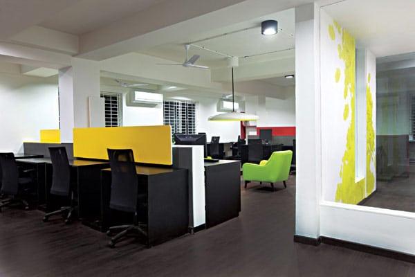 Les locaux de l'entreprise White Canvas à Bangalore (9)
