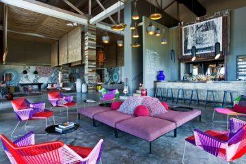 Un hôtel cosy et coloré