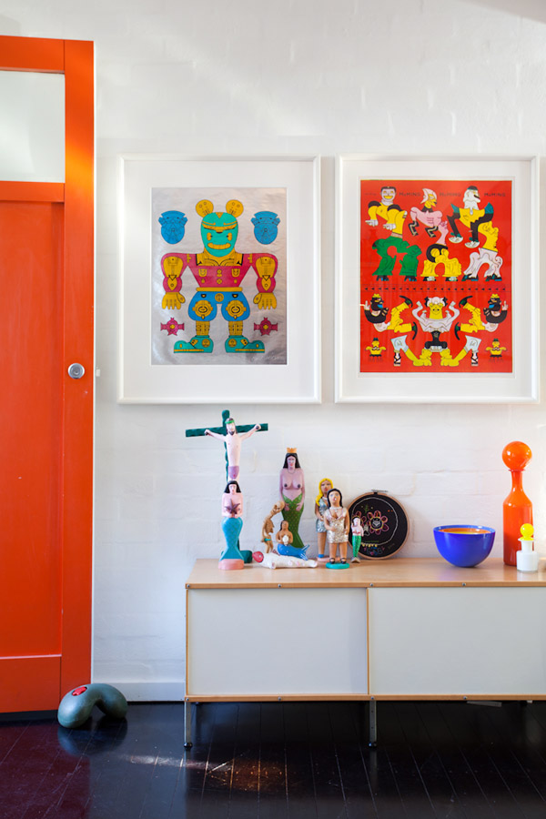 Maison australienne colorée