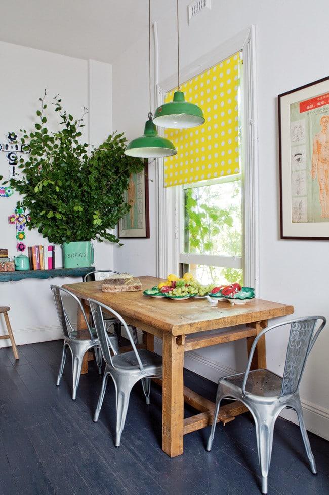 Appartement vintage au look coloré (5)