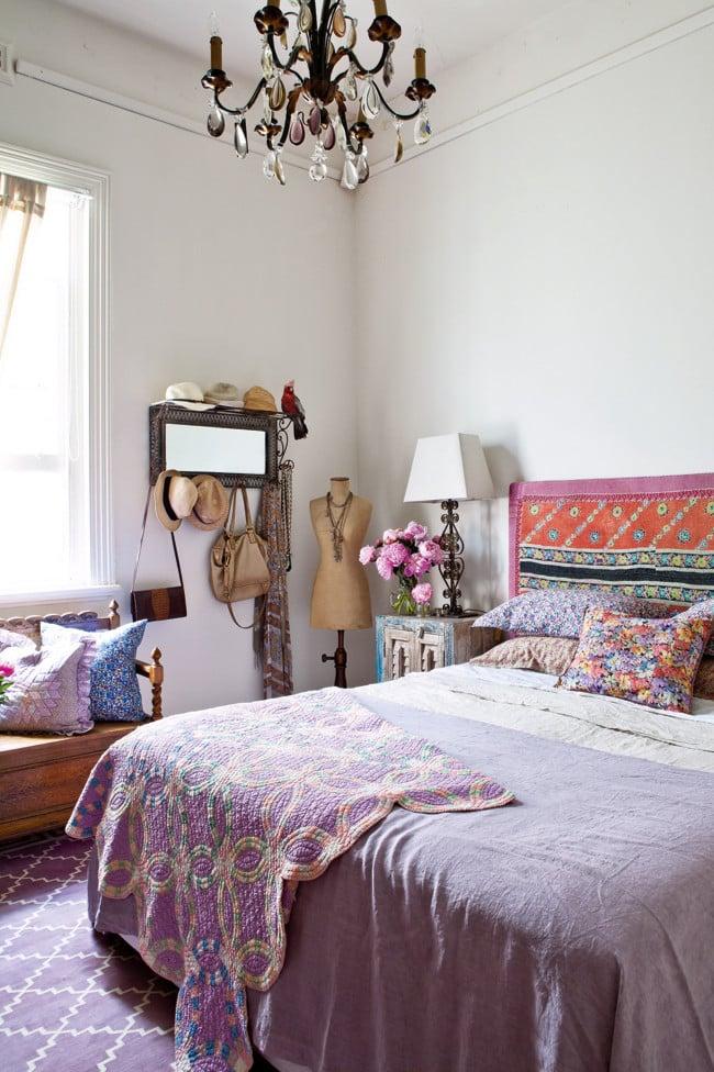 Appartement vintage au look coloré (7)