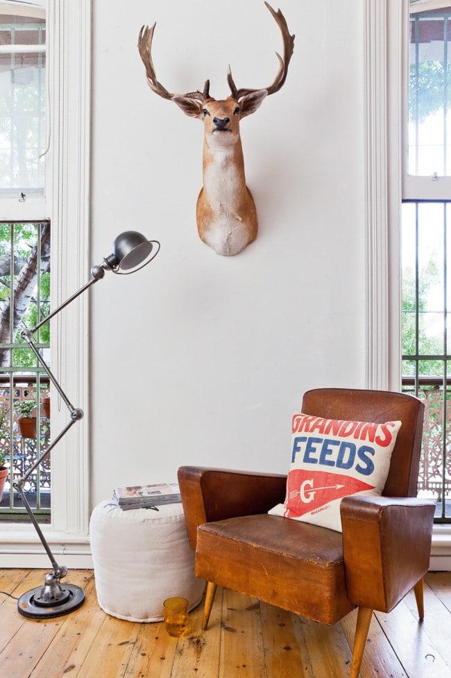 la d co vintage d 39 una ppartement color. Black Bedroom Furniture Sets. Home Design Ideas