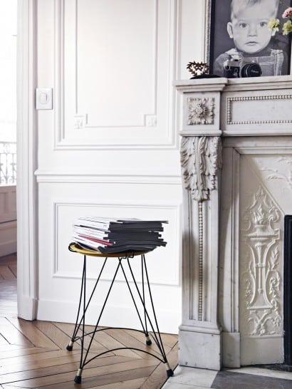 L 39 int rieur parisien de marie cerise lichtle co fondatrice for Interieur appartement parisien