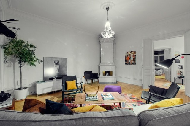 Appartement scandinave d co sphair - Decoration appartement scandinave ...
