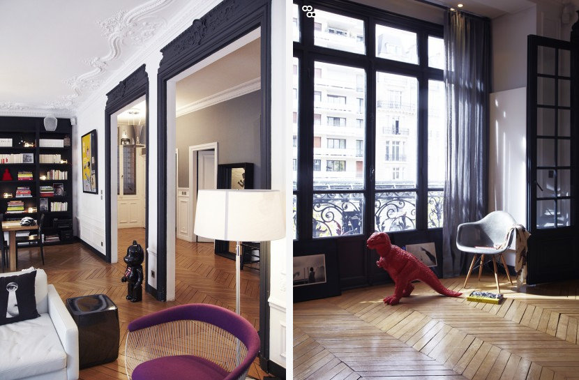 Un intérieur parisien (2)