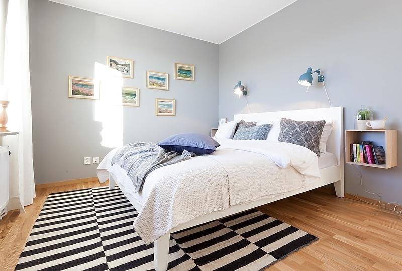 Un intérieur scandinave bleu-gris (11)