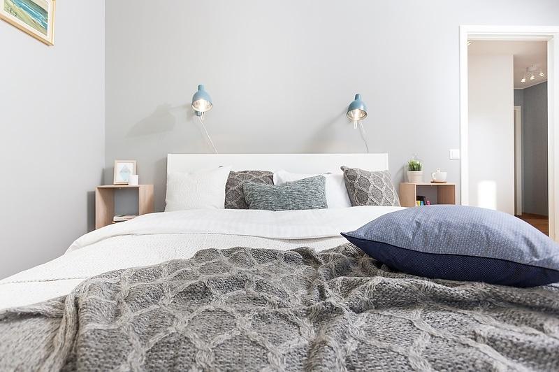 Un intérieur scandinave bleu-gris (12)