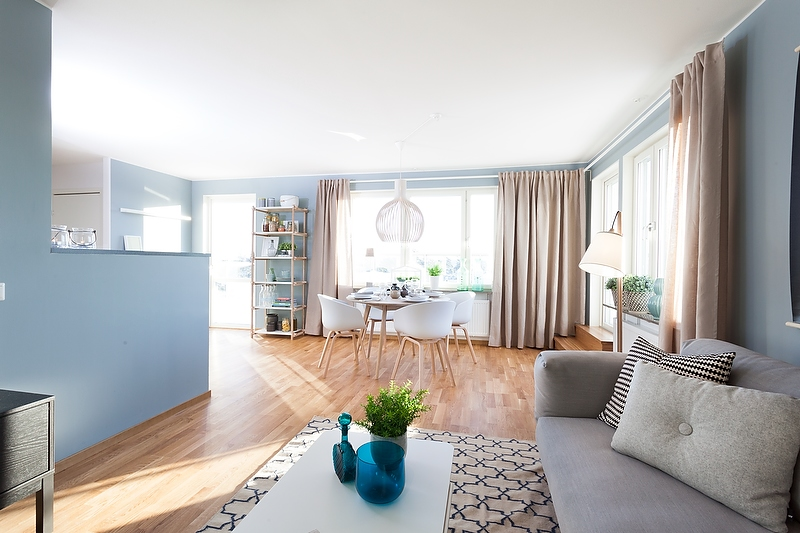 Un intérieur scandinave bleu-gris (15)