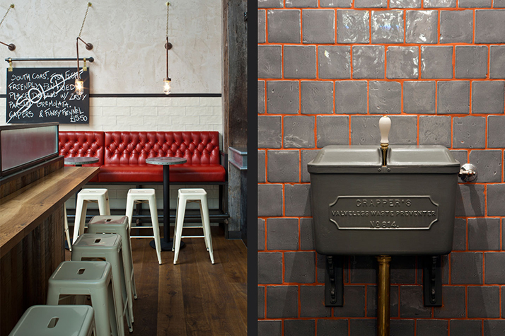 Le restaurant au style industriel de jamie oliver for Interieur industriel