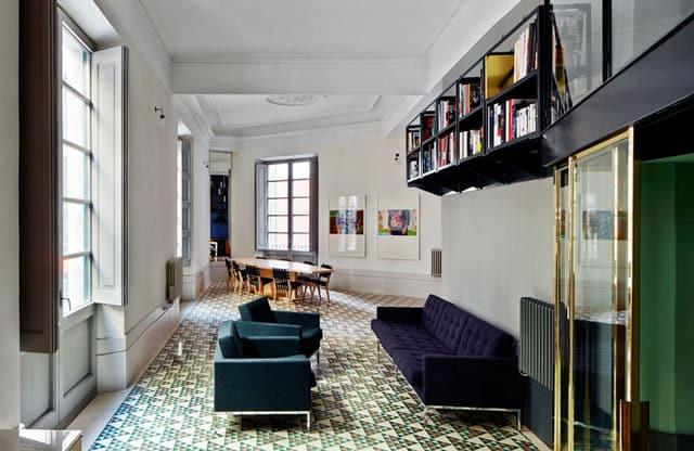 Un appartement moderne qui a conservé l'esprit rétro (1)