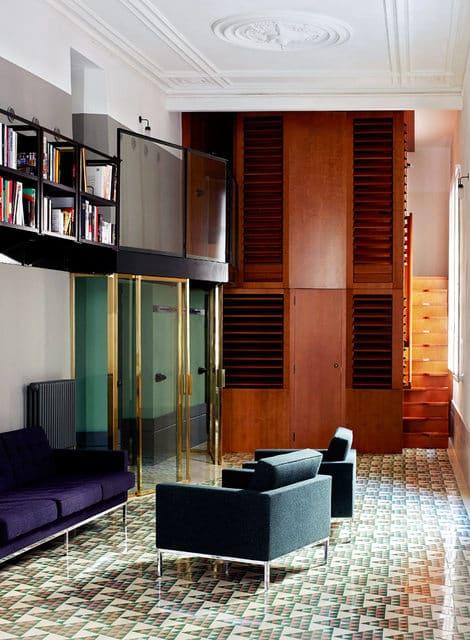 Un appartement moderne qui a conservé l'esprit rétro (10)