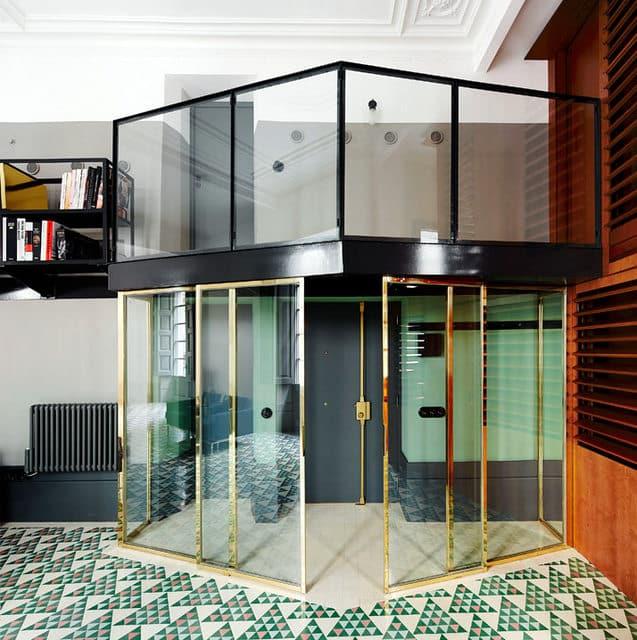 Un appartement moderne qui a conservé l'esprit rétro