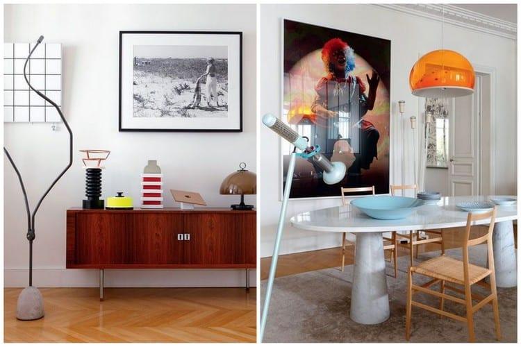 Une d co f minine pour un appartement parisien - Deco pour appartement ...
