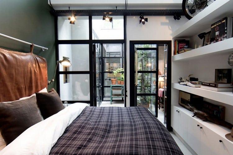 am nager un loft dans un ancien garage. Black Bedroom Furniture Sets. Home Design Ideas