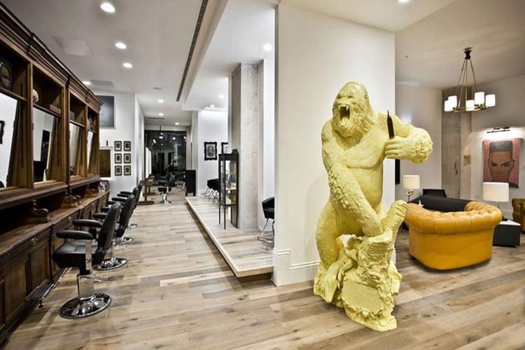 idee deco salon de coiffure
