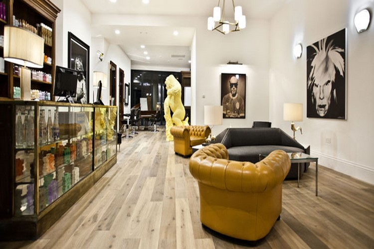 Id es d co pour un salon de coiffure - Idee deco salon design ...