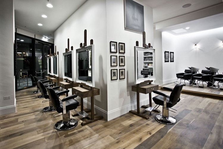 Id es d co pour un salon de coiffure - Amenagement salon de coiffure ...