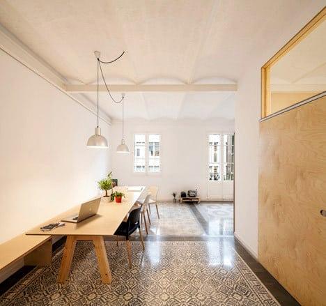 Un appartement rénové à Barcelone (1)