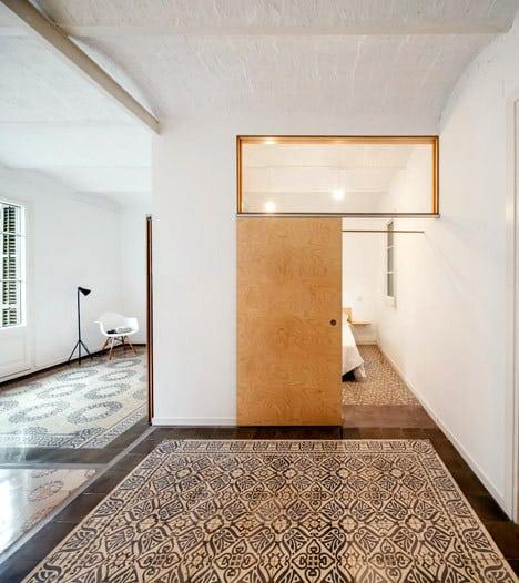 Un appartement rénové à Barcelone (2)