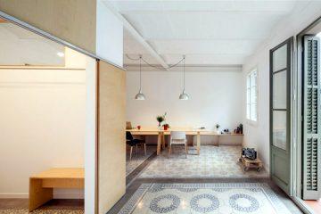 Un appartement rénové à Barcelone