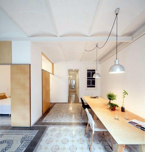 Un appartement rénové à Barcelone (5)