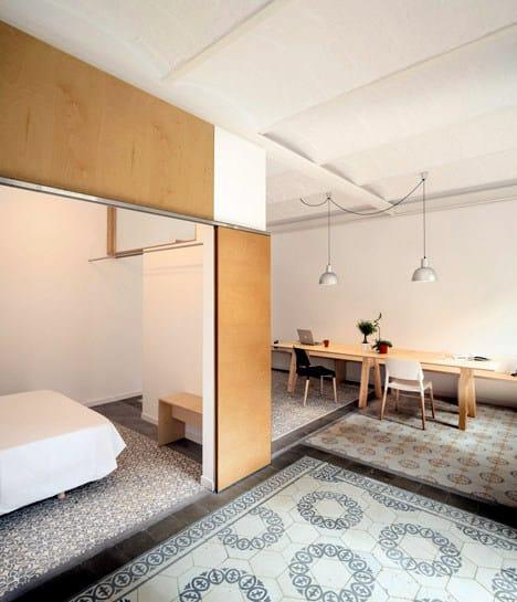 Un appartement rénové à Barcelone (6)