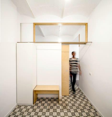 Un appartement rénové à Barcelone (8)