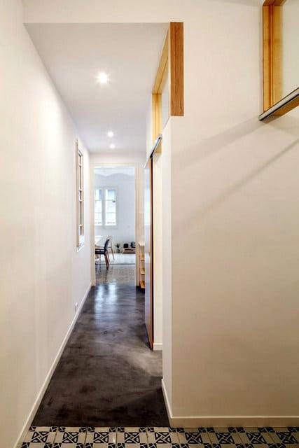 Un appartement rénové à Barcelone (9)