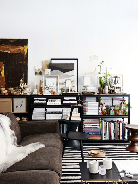 Un intérieur de collectionneur (4)