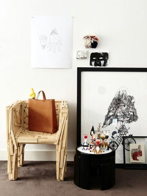 Un intérieur de collectionneur (5)