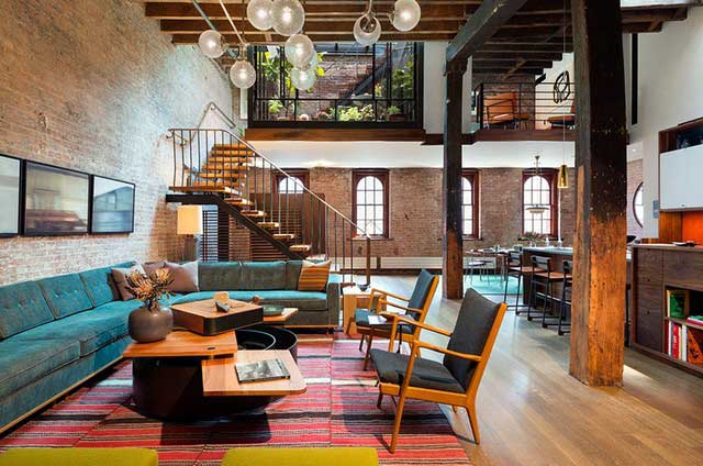 Une rénovation d'un loft à New York
