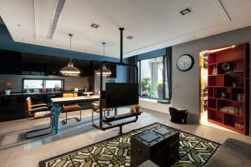 Un immeuble aménagé par HAO Design 021