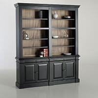 Comment cr er un cabinet de curiosit s la maison - Relooker une bibliotheque en merisier ...