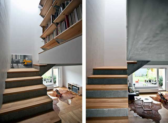 Une maison bois béton en Pologne (3)