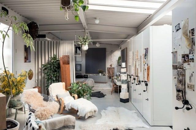 La conversion d'un entrepôt en habitation (6)