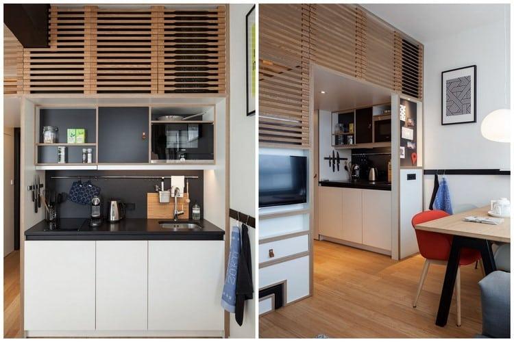 studio tasseaux de bois