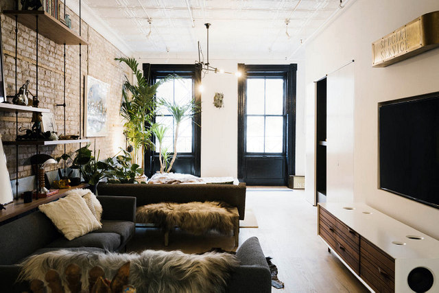 La d co d 39 un loft industriel - Decoration loft industriel ...