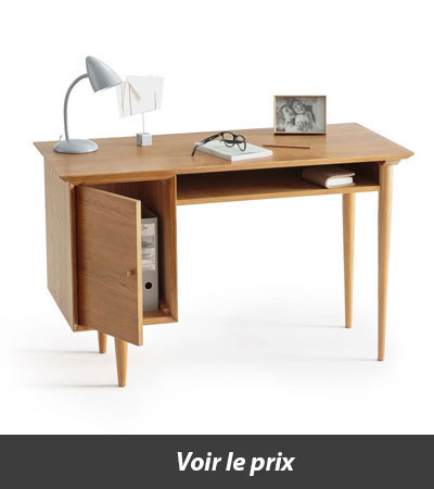 Top 10 des bureaux en bois pour une d co ind modable for Bureau quilda