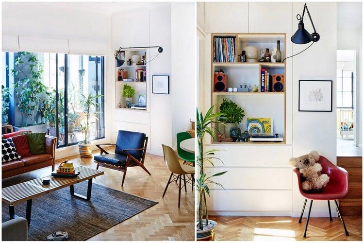 Maison melant vintage et contemporain