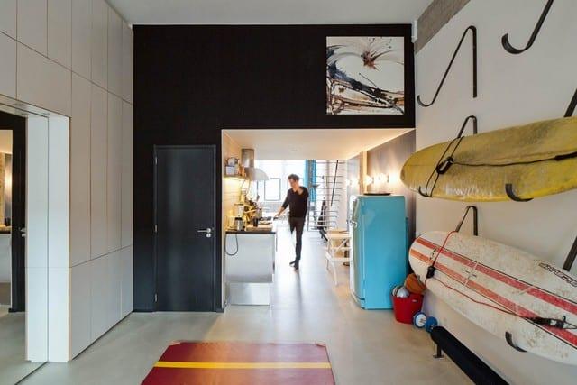 Un entrepôt transformé en loft (10)