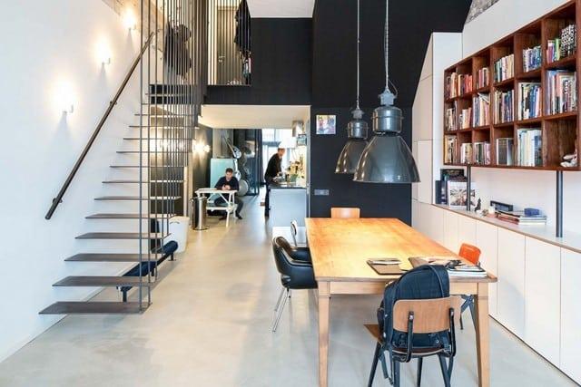 Un entrepôt transformé en loft (3)