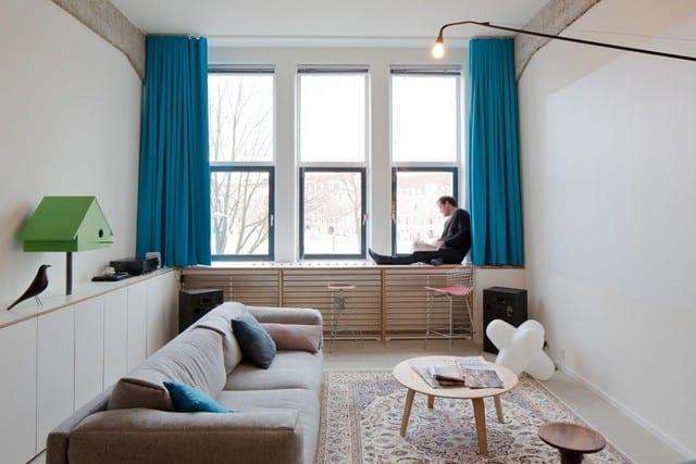 Un entrepôt transformé en loft (4)
