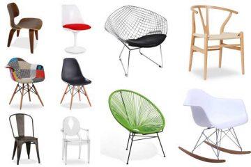 10 chaises design