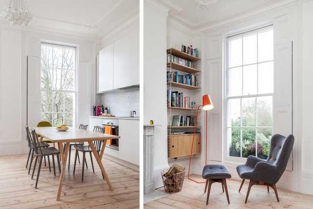 Un appartement londonien nous dévoile ses charmes (1)