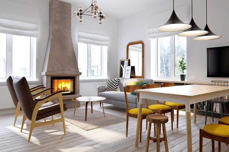 interieur scandinave par INT2 Architect