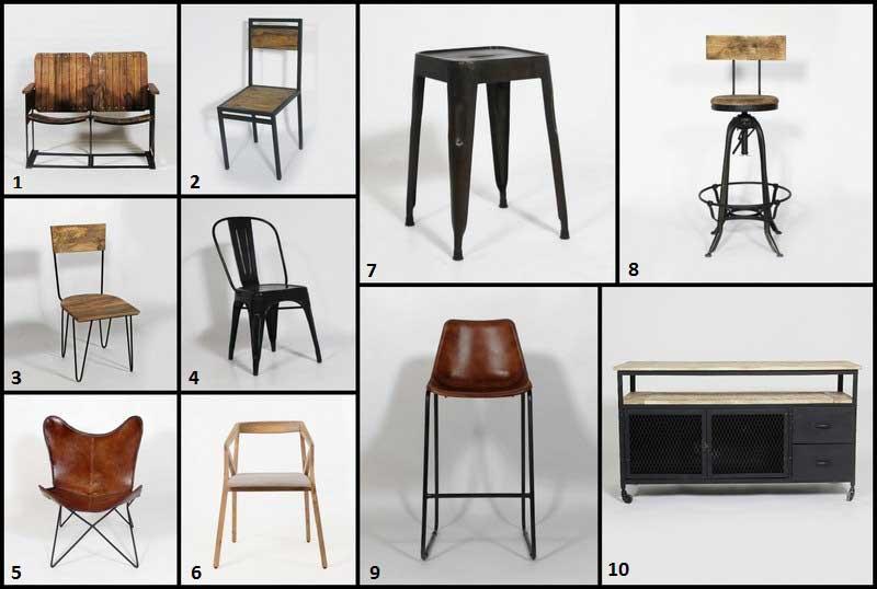 10 meubles au look masculin num
